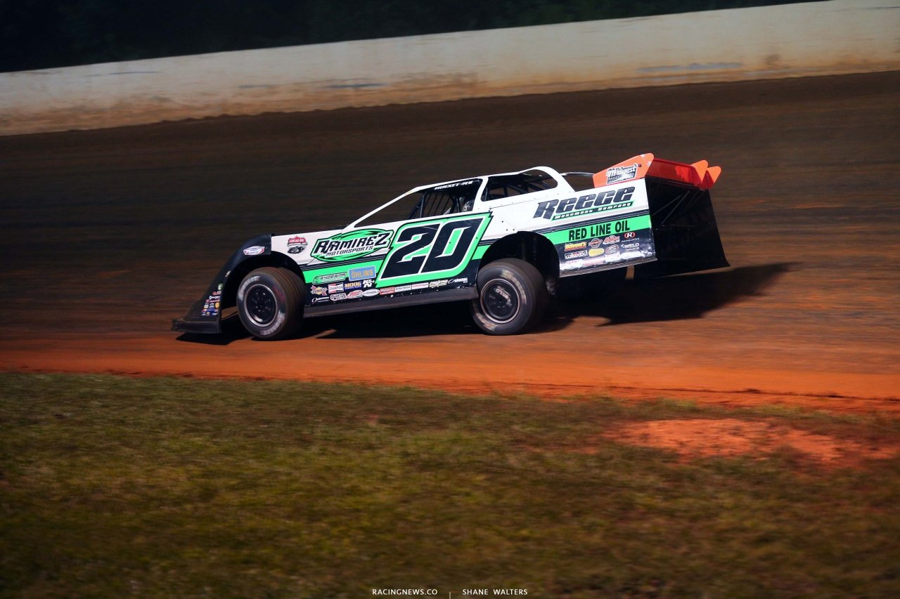 Jimmy Owens at Ponderosa Speedway - Dirt Track Racing 3033