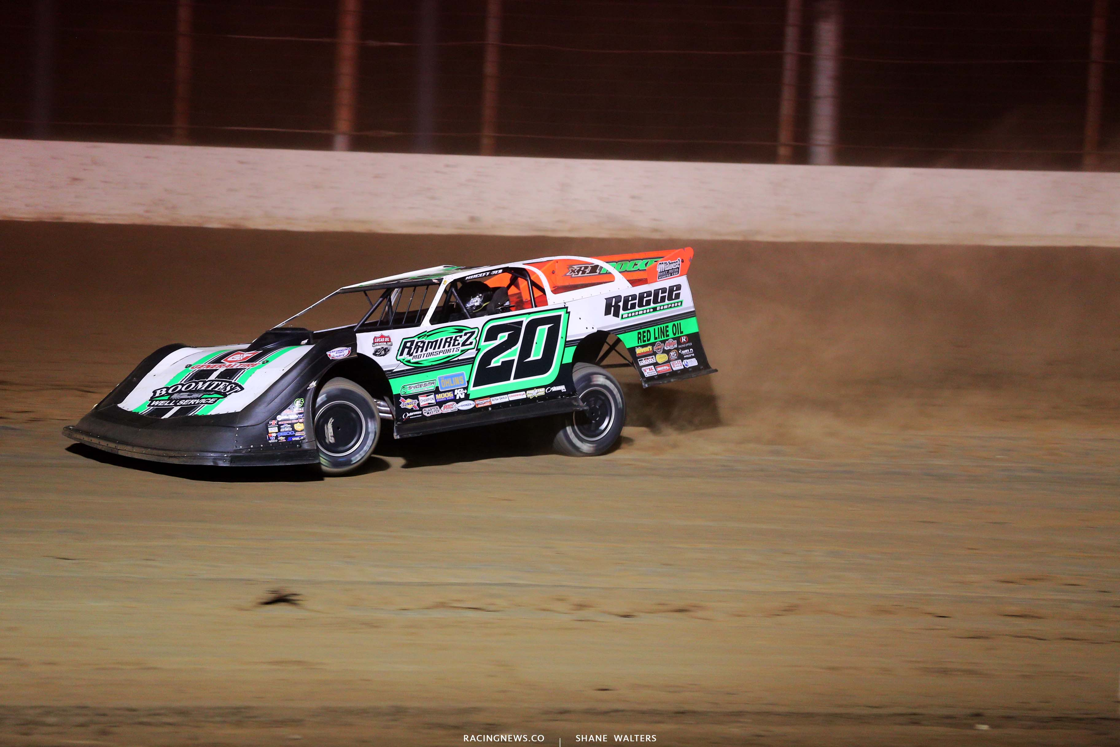 Jimmy Owens at Portsmouth Raceway Park - Dirt Late Model 3257