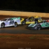 Jonathan Davenport, Jimmy Owens and Billy Moyer Jr at Ponderosa Speedway - Lucas Oil Late Model Dirt Series 3063