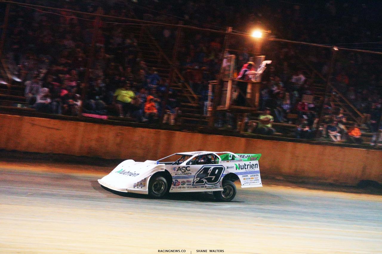 Jonathan Davenport wins at Ponderosa Speedway - Dirt Late Model Racing 3110