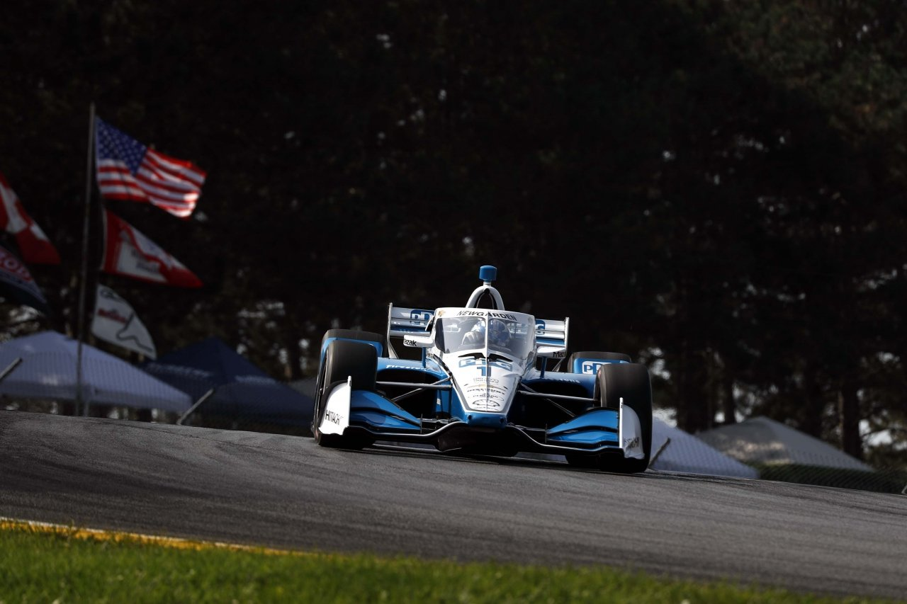 Joseph Newgarden at Mid-Ohio - Indycar Series