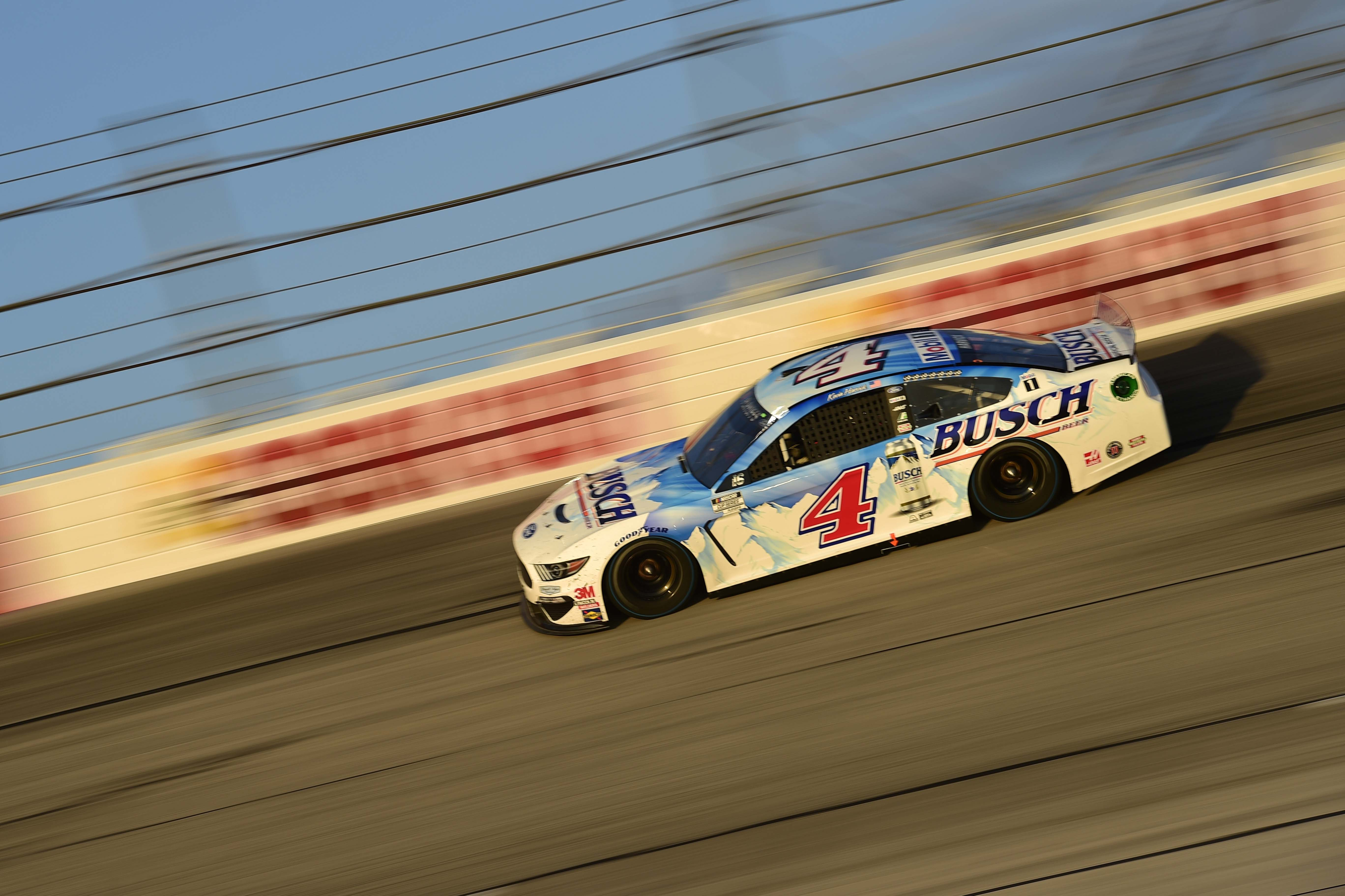 Kevin Harvick in the Busch throwback at Darlington Raceway - NASCAR Cup Series