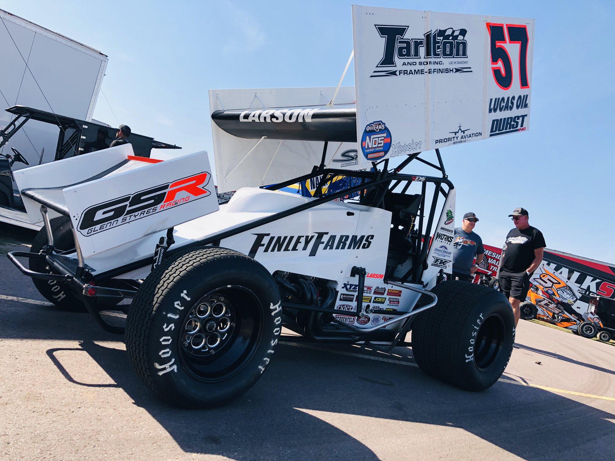 Kyle Larson - Dirt Sprint Car No 57
