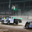 Kyle Strickler and Jonathan Davenport at Eldora Speedway