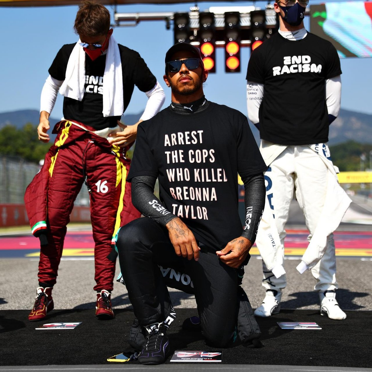 Lewis Hamilton - Arrest the cops who killed Breonna Taylor