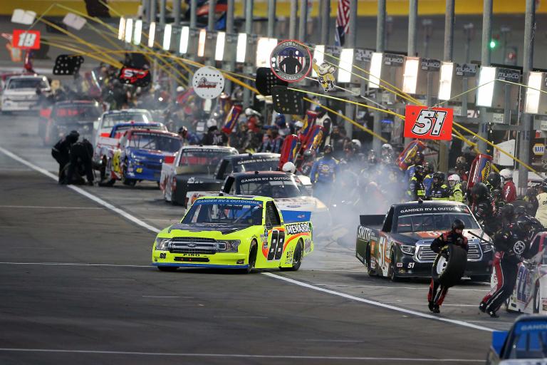 Matt Crafton at Las Vegas Motor Speedway - NASCAR Truck Series
