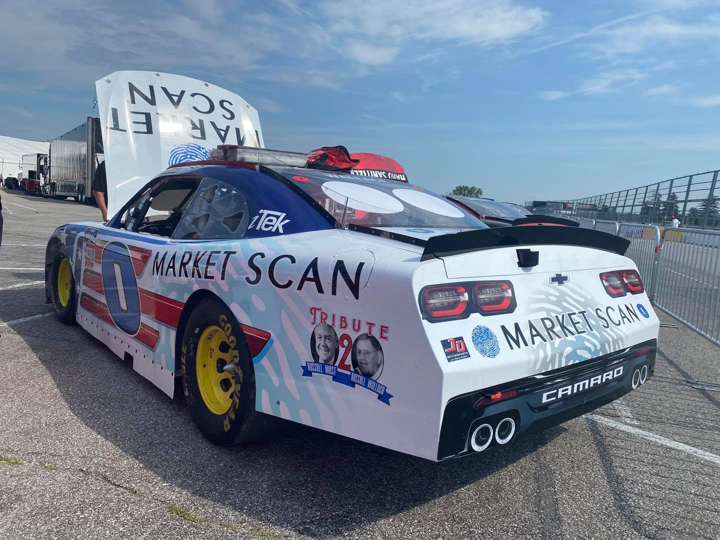 Mike Wallace - Market Scan car