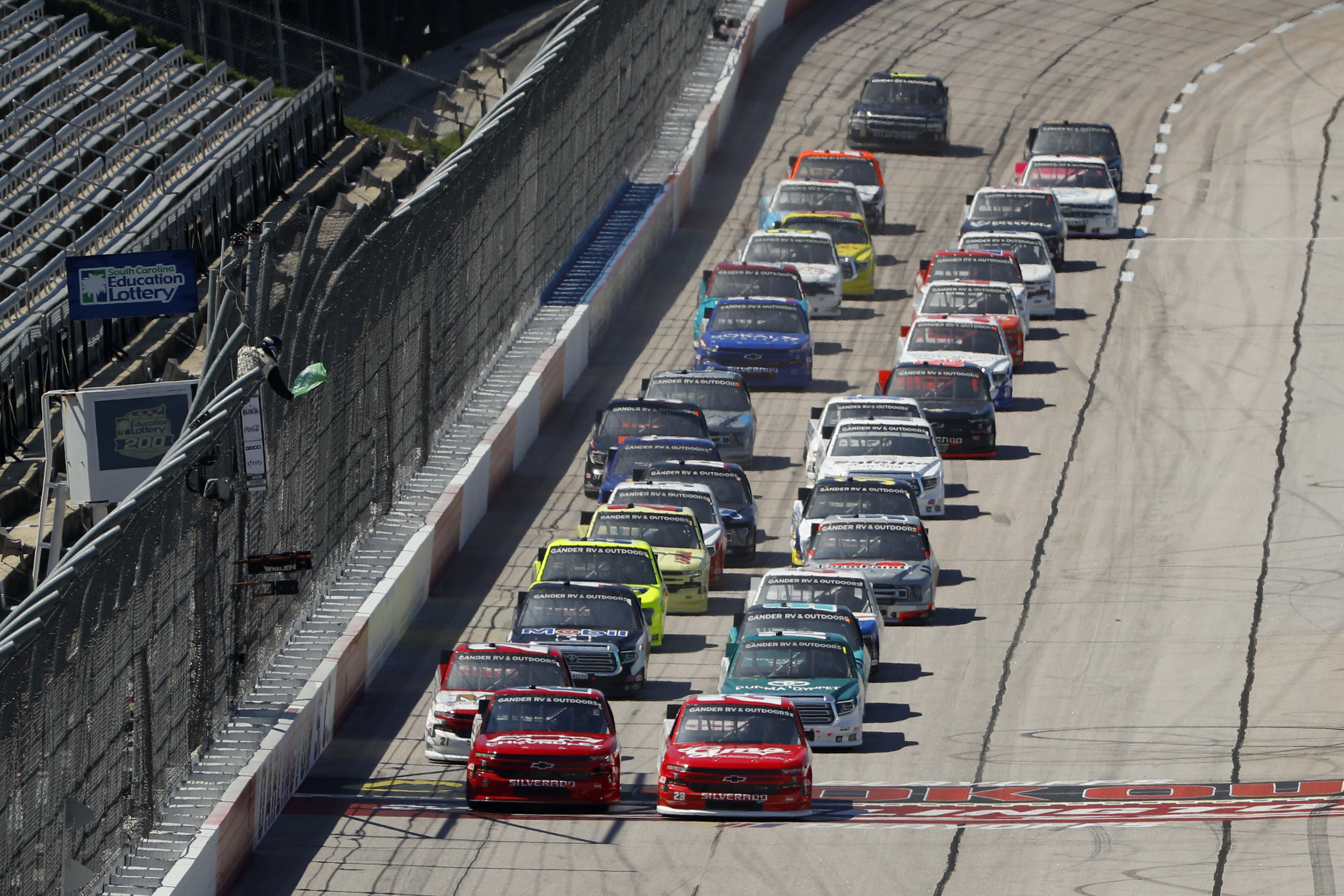 NASCAR Truck Series at Darlington Raceway