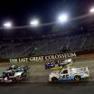 NASCAR trucks at Bristol Motor Speedway