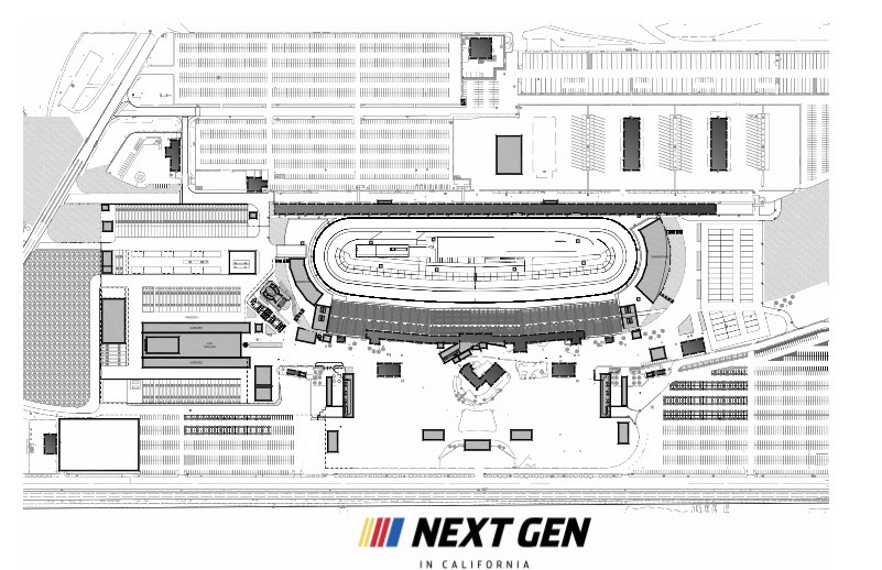 Next Gen in California - Auto Club Speedway short track project