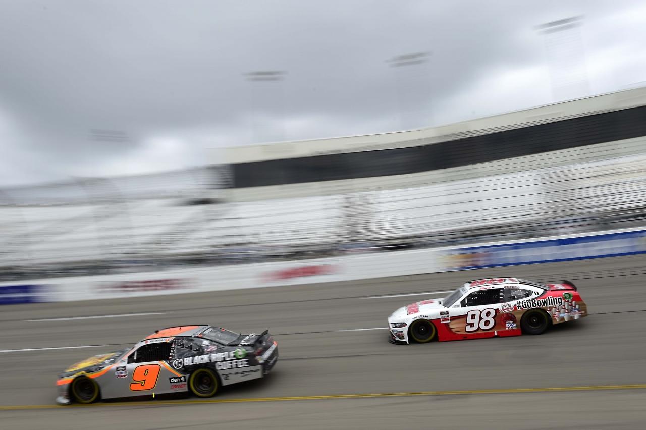 Noah Gragson and Chase Briscoe - NASCAR Xfinity Series at Richmond Raceway