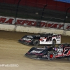 Ricky Weiss and Shannon Babb at Eldora Speedway