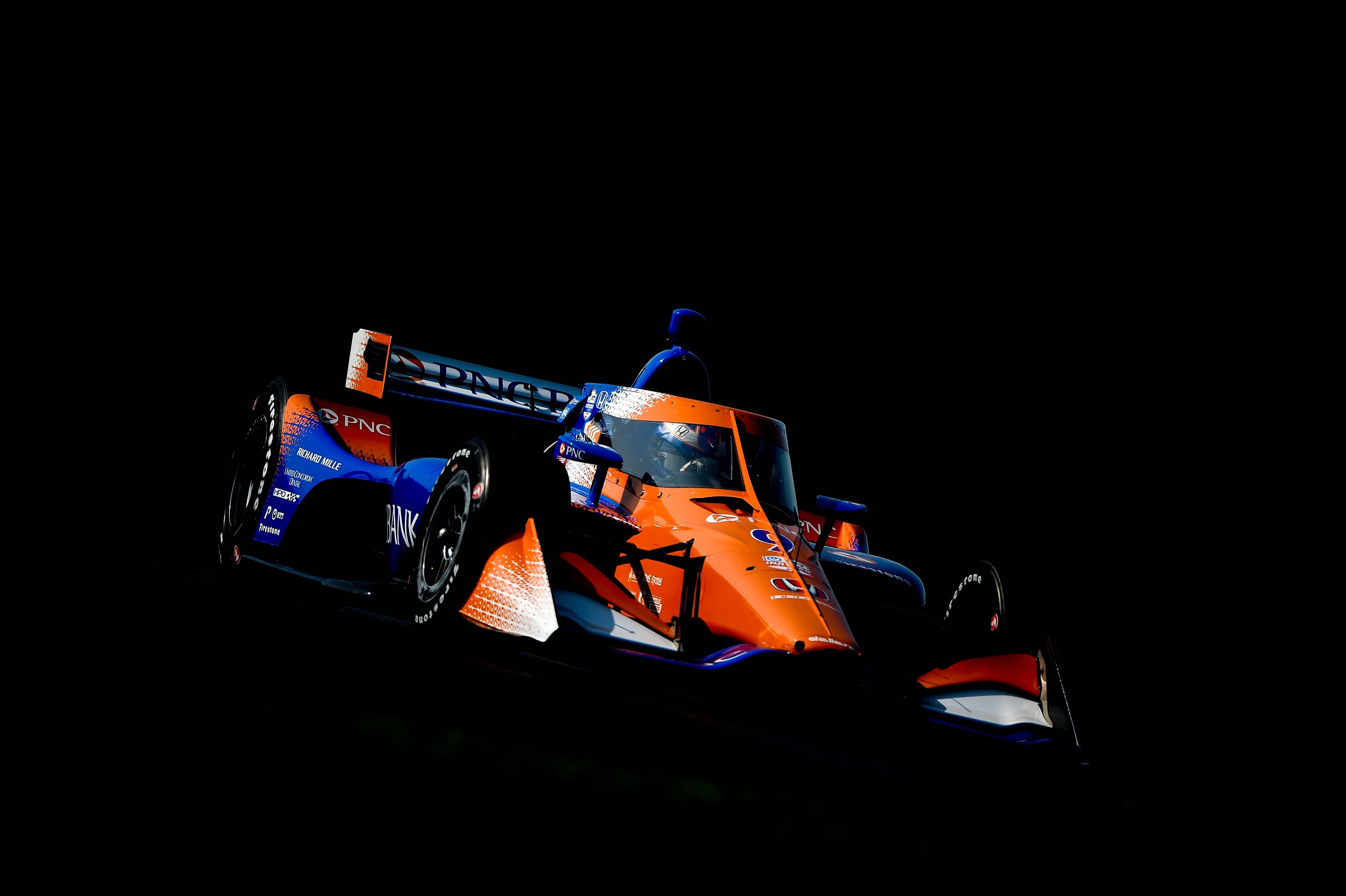 Scott Dixon at Mid-Ohio - Indycar Series