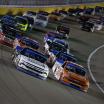 Sheldon Creed and Brett Moffitt at Las Vegas Motor Speedway - NASCAR Truck Series