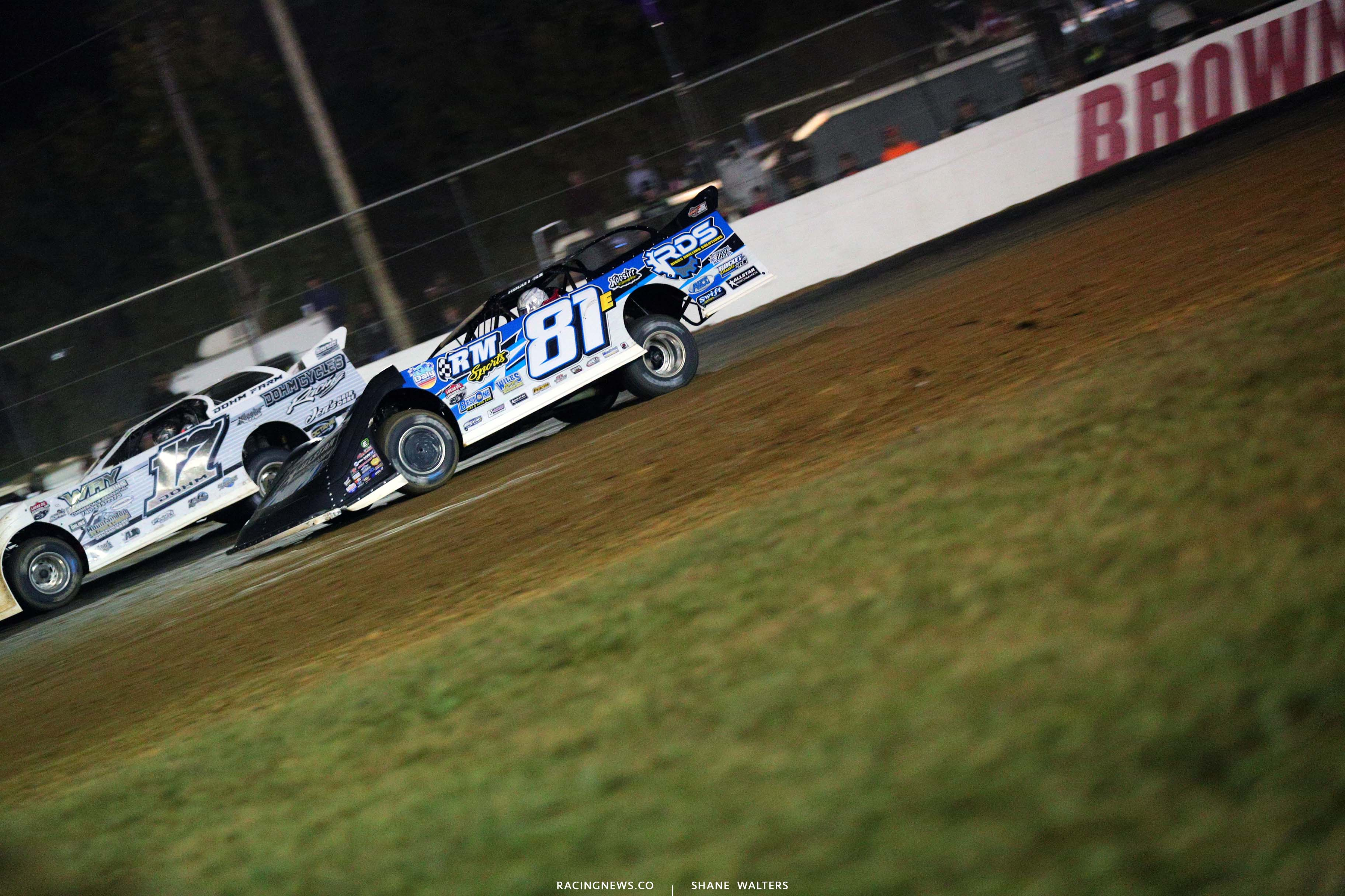 Tanner English at Brownstown Speedway - Lucas Oil Late Models 4634