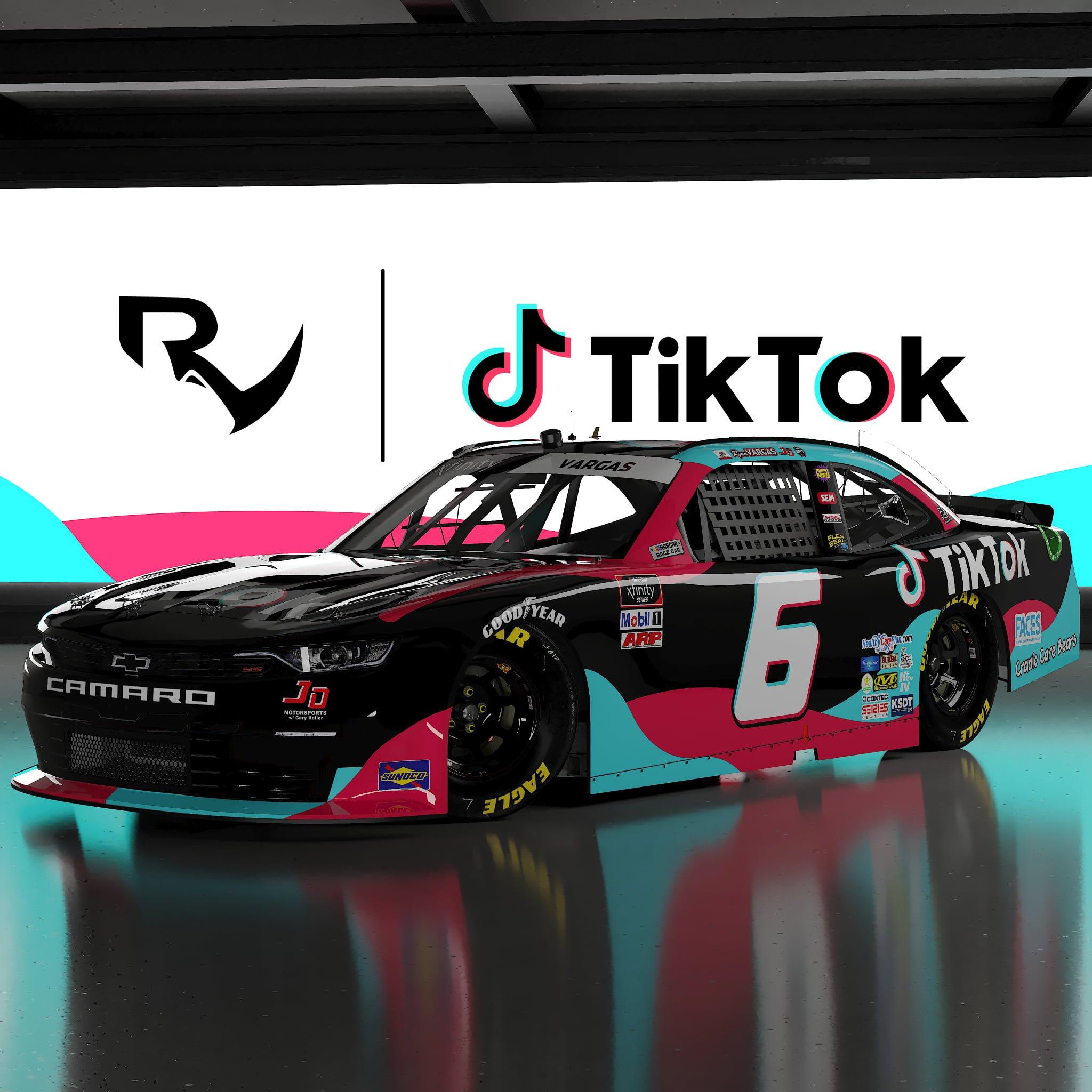 TikTok - NASCAR Race Car