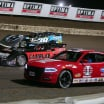 Tim McCreadie, Brandon Overton and the I-80 Speedway pace car - Lucas Late Models 3689