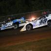 Tim McCreadie and Jonathan Davenport at Brownstown Speedway - Jackson 100 - Lucas Oil Late Model Dirt Series 4560