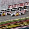 Travis Pastrana and Conor Daly at Las Vegas Motor Speedway - NASCAR Truck Series