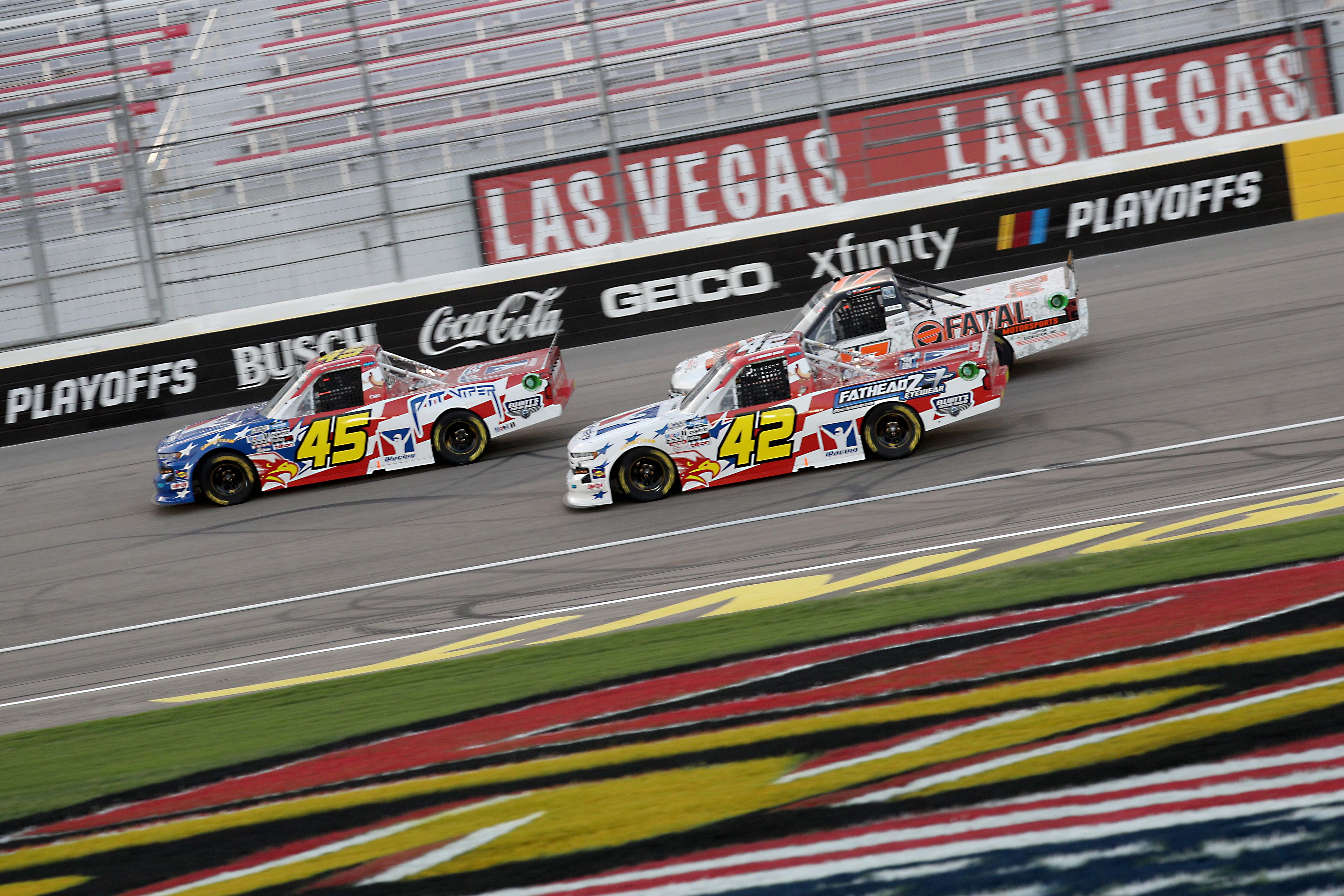 Las Vegas Race Results: September 25, 2020 (NASCAR Truck Series) - Racing News
