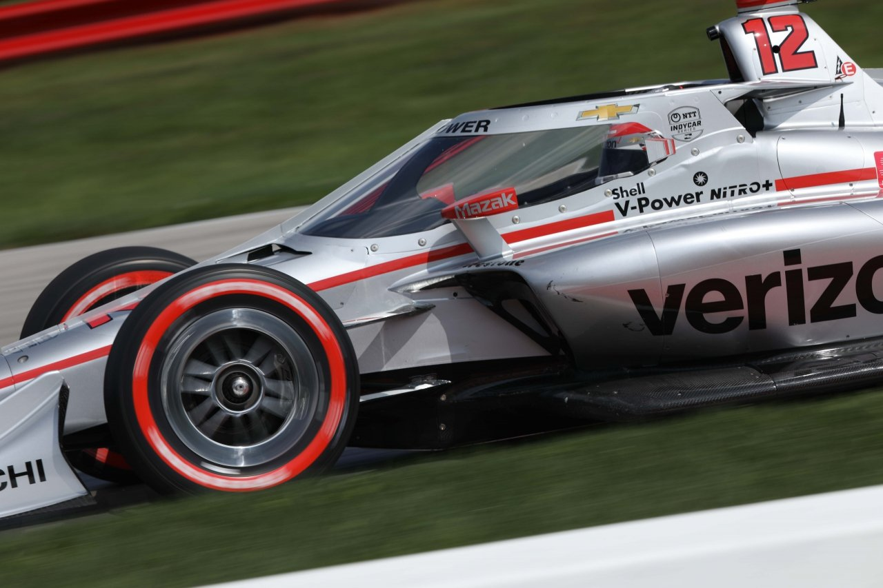 Will Power at Mid-Ohio - Indycar Series