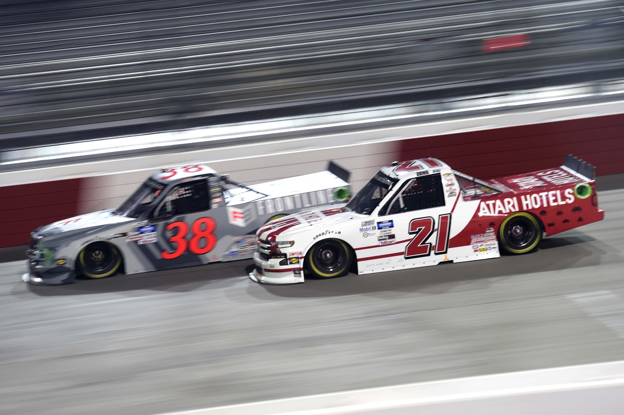 Zane Smith at Richmond Raceway - NASCAR Truck Series