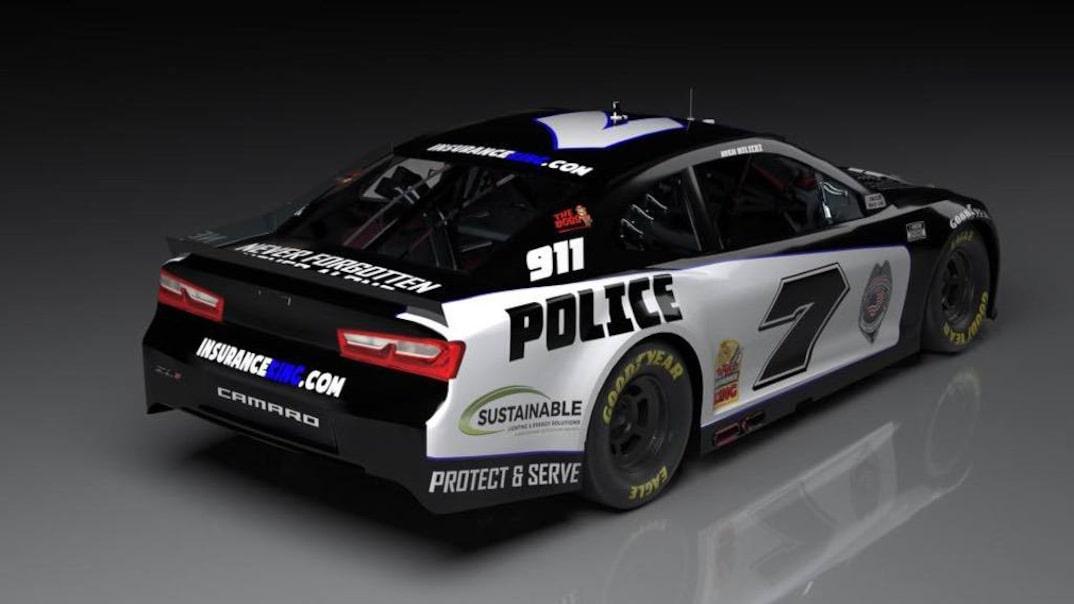 NASCAR police car - Josh Bilicki 7