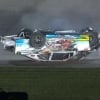 Anthony Alfredo crash - Kansas Speedway - NASCAR Xfinity Series