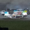 Anthony Alfredo crash - Kansas Speedway - NASCAR Xfinity Series