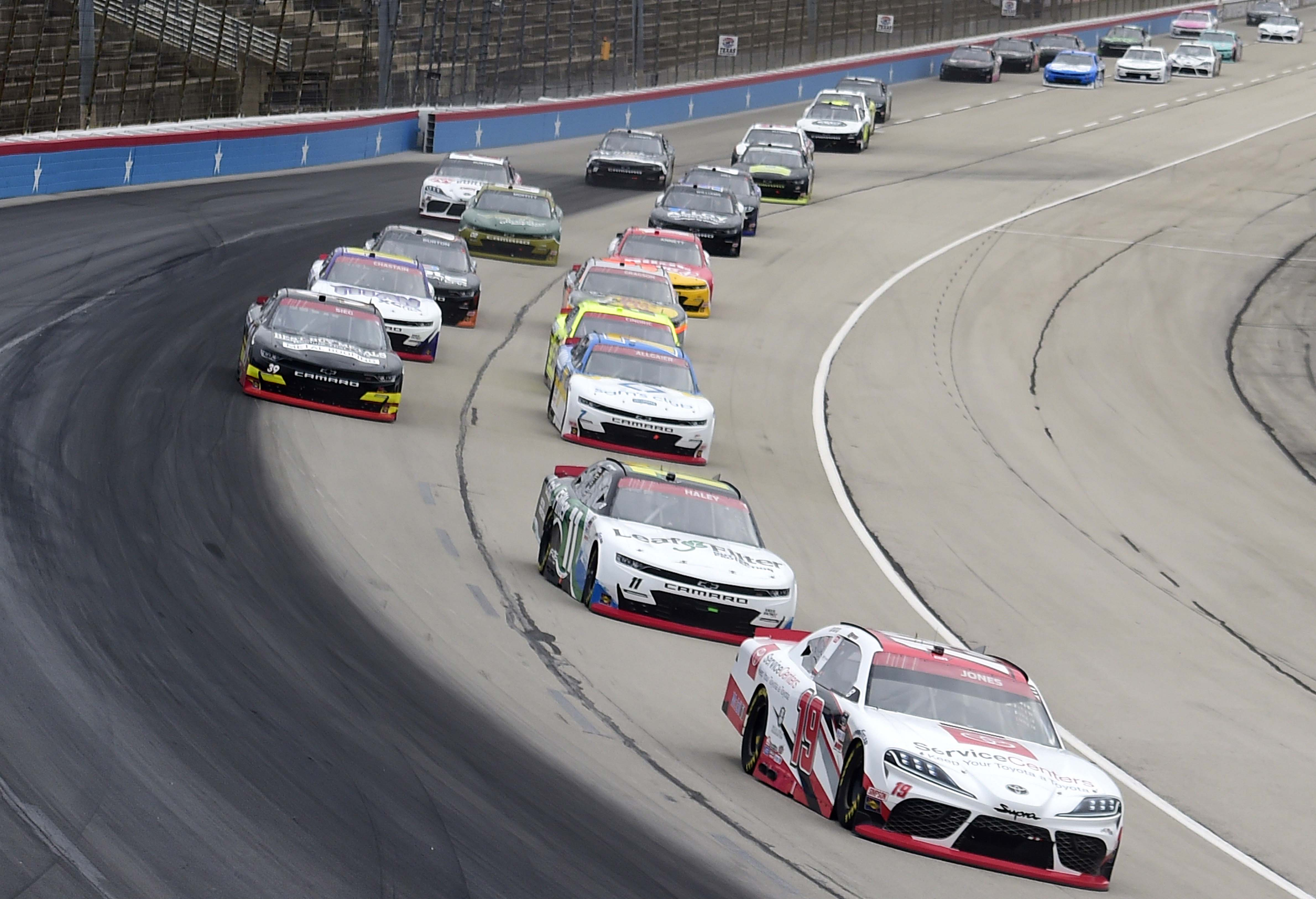 Brandon Jones - NASCAR Xfinity Series at Texas Motor Speedway