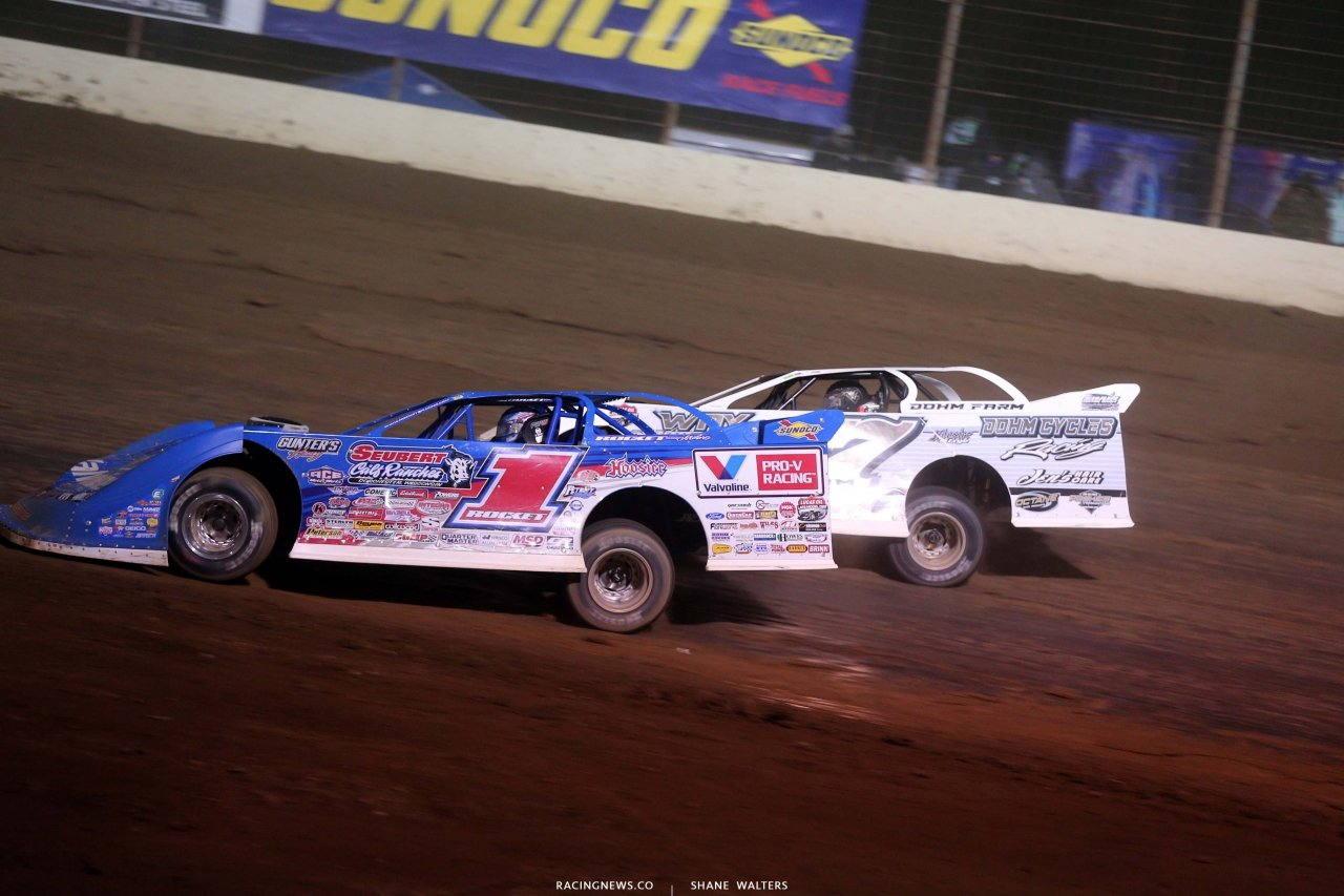 Brandon Sheppard and Zack Dohm - Dirt Track Racing - Lucas Series 5652