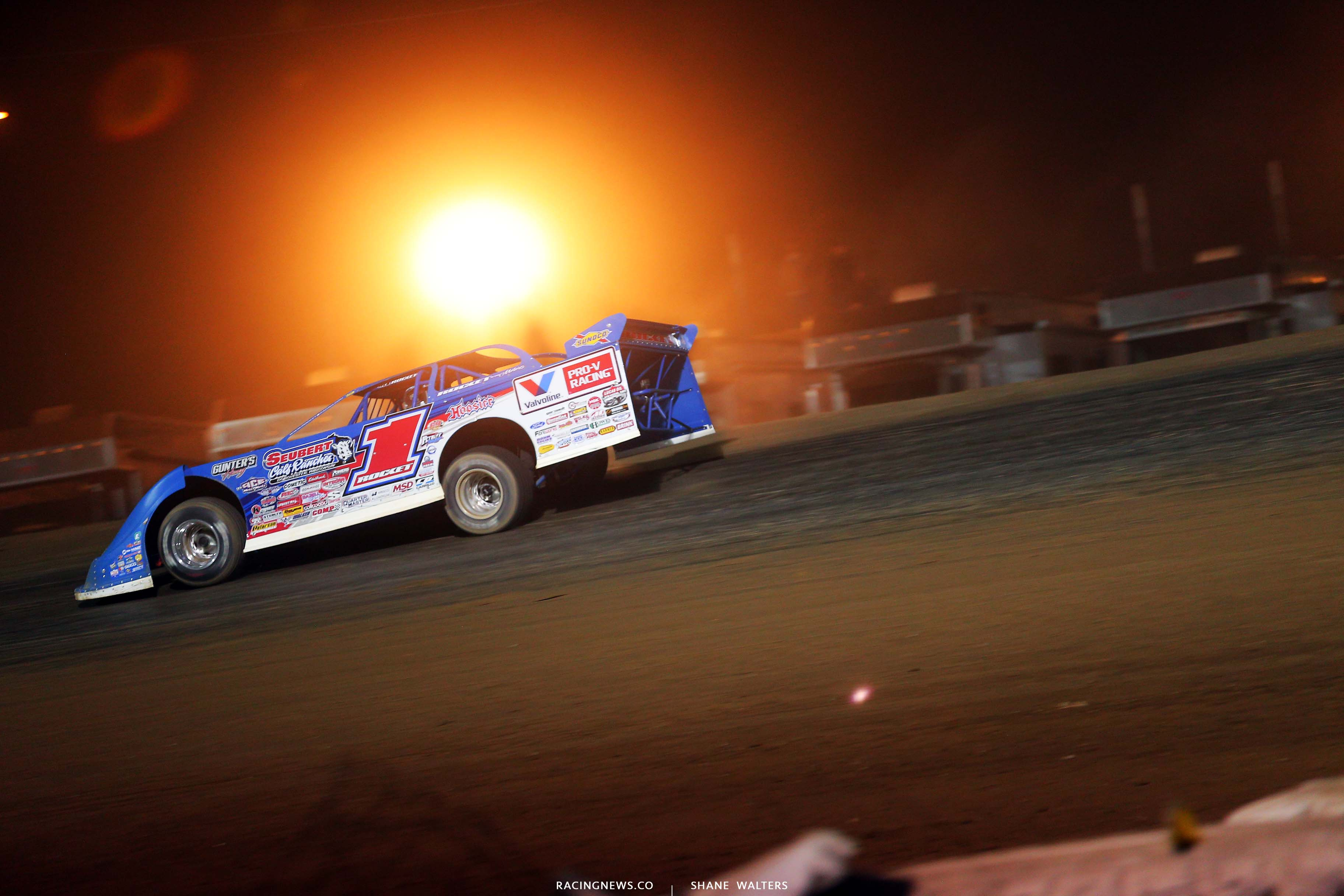 Brandon Sheppard at Portsmouth Raceway Park - Dirt Track Racing 5676