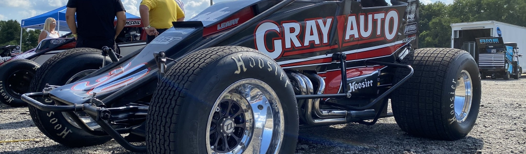 CJ Leary: Defending USAC champion suspended