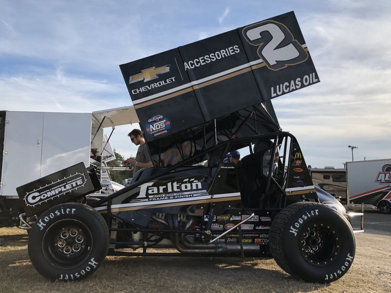 Carson Macedo - Kyle Larson Racing - World of Outlaws Sprint Car Series