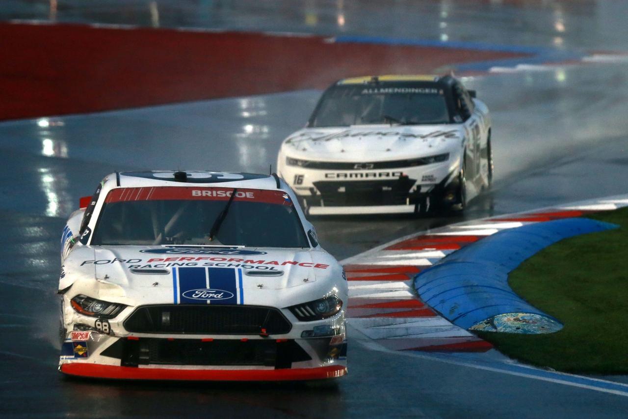 Chase Briscoe and AJ Allmendinger - Rain Racing - NASCAR Xfinity Series - Charlotte ROVAL