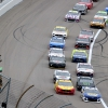 Chase Elliott, Joey Logano at Kansas Speedway - NASCAR Cup Series