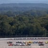 Denny Hamlin leads at Talladega Superspeedway - NASCAR Cup Series
