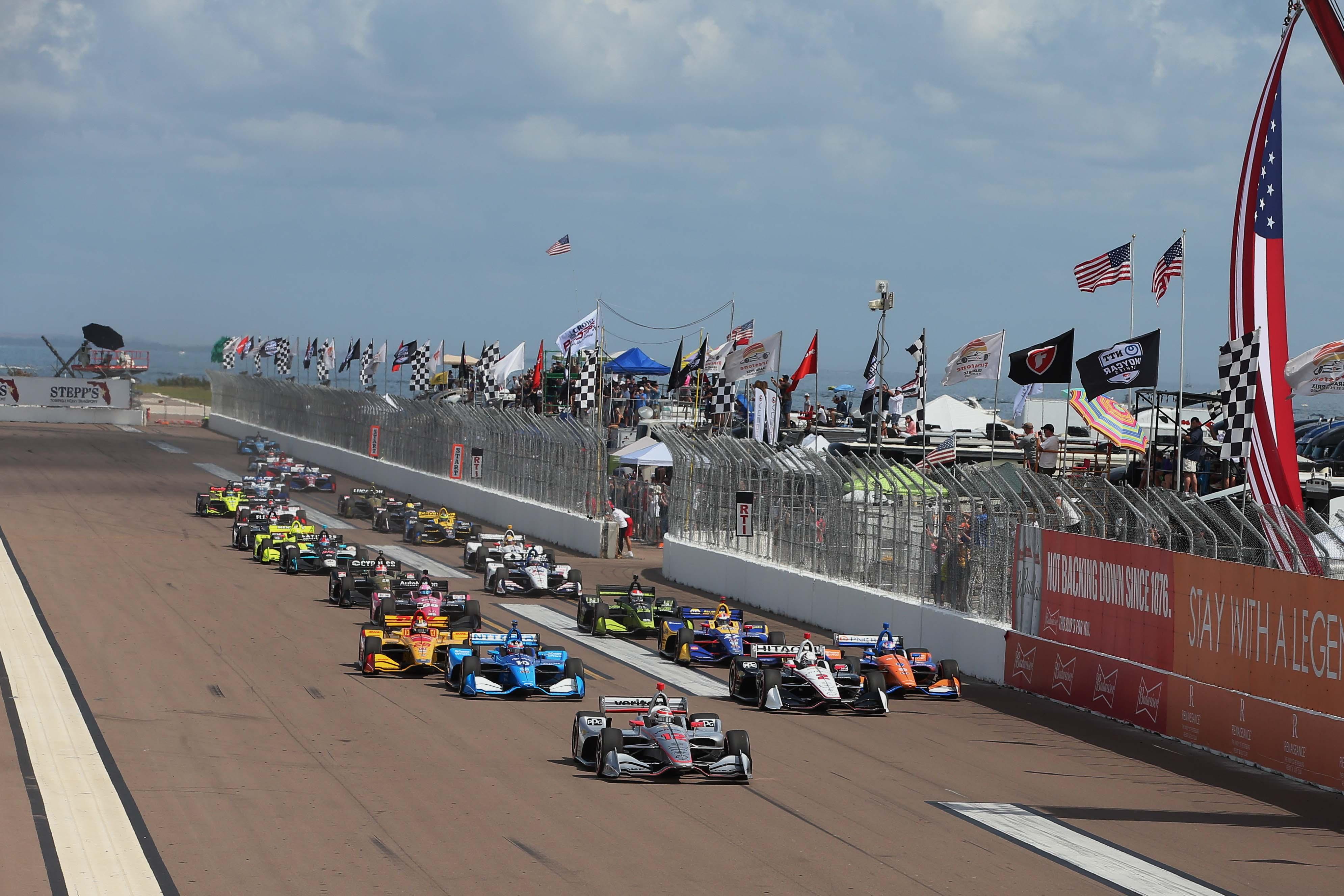 Grand Prix of St Petersburg - Indycar Series