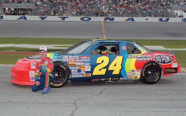 Jeff Gordon - Booker Chassis - Daytona