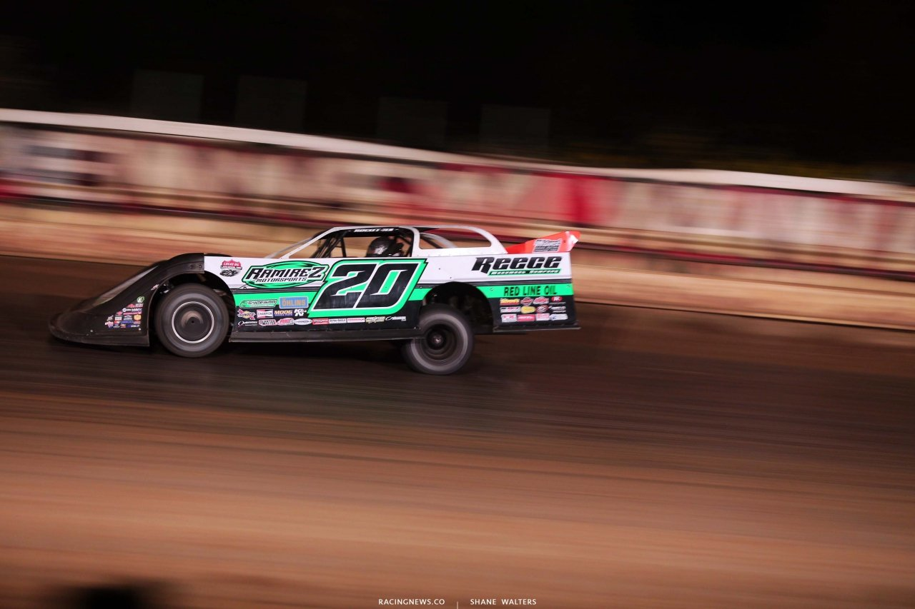 Jimmy Owens at Pittsburghs PA Motor Speedway - Lucas Oil Late Model Dirt Series 5029