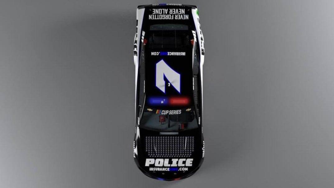 Josh Bilicki - NASCAR police car - Martinsville Speedway