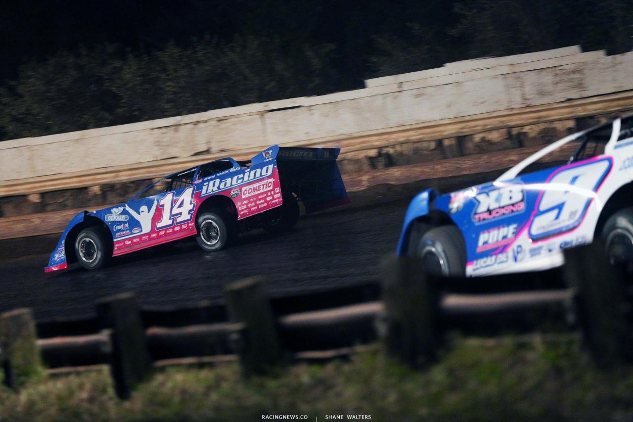 Josh Richards at Pittsburgh's Pennsylvania Motor Speedway - Lucas Late Model 4865