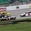 Kevin Harvick, Kurt Busch, Joey Logano and Denny Hamlin at Kansas Speedway - NASCAR Cup Series