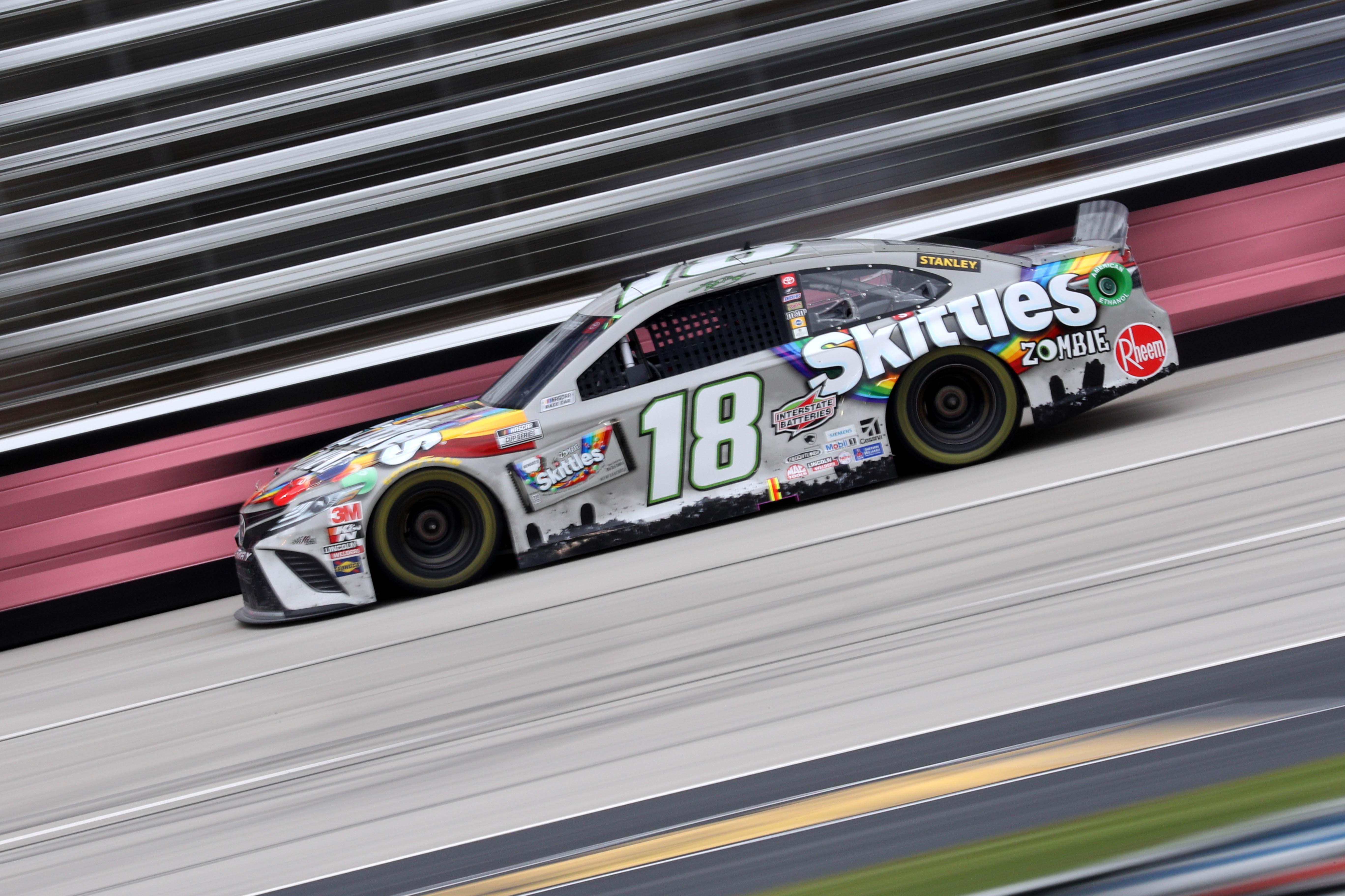 Kyle Busch - Skittles Zombie Paint Scheme - Texas Motor Speedway - NASCAR Cup Series