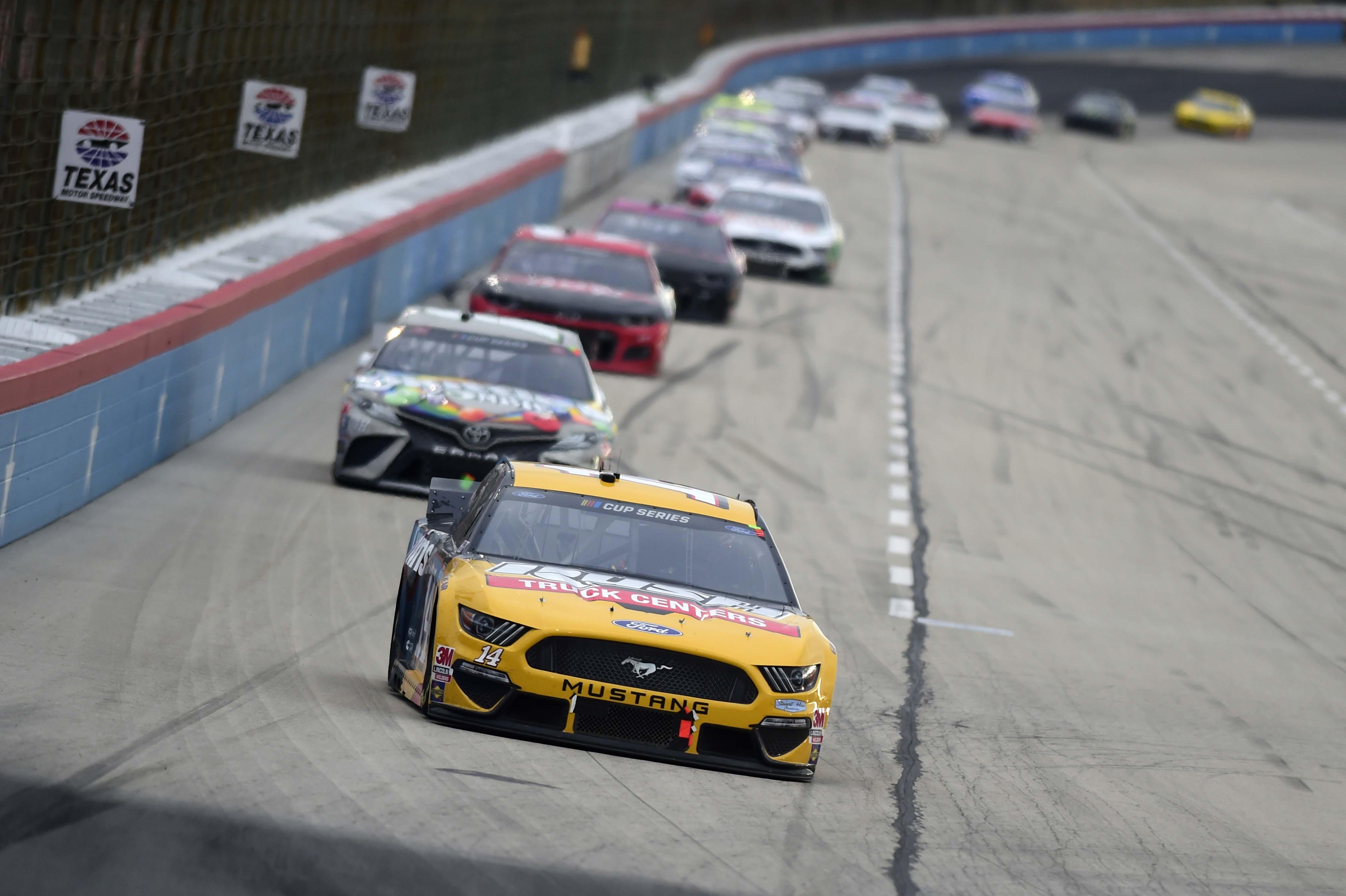 Kyle Busch at Texas Motor Speedway - NASCAR Cup Series