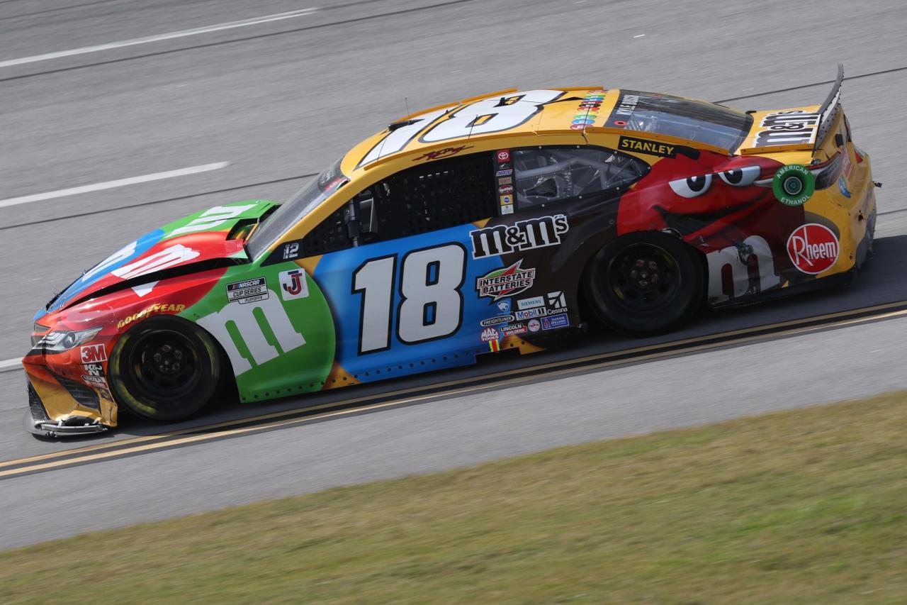 Kyle Busch crash at Talladega Superspeedway - NASCAR Cup Series