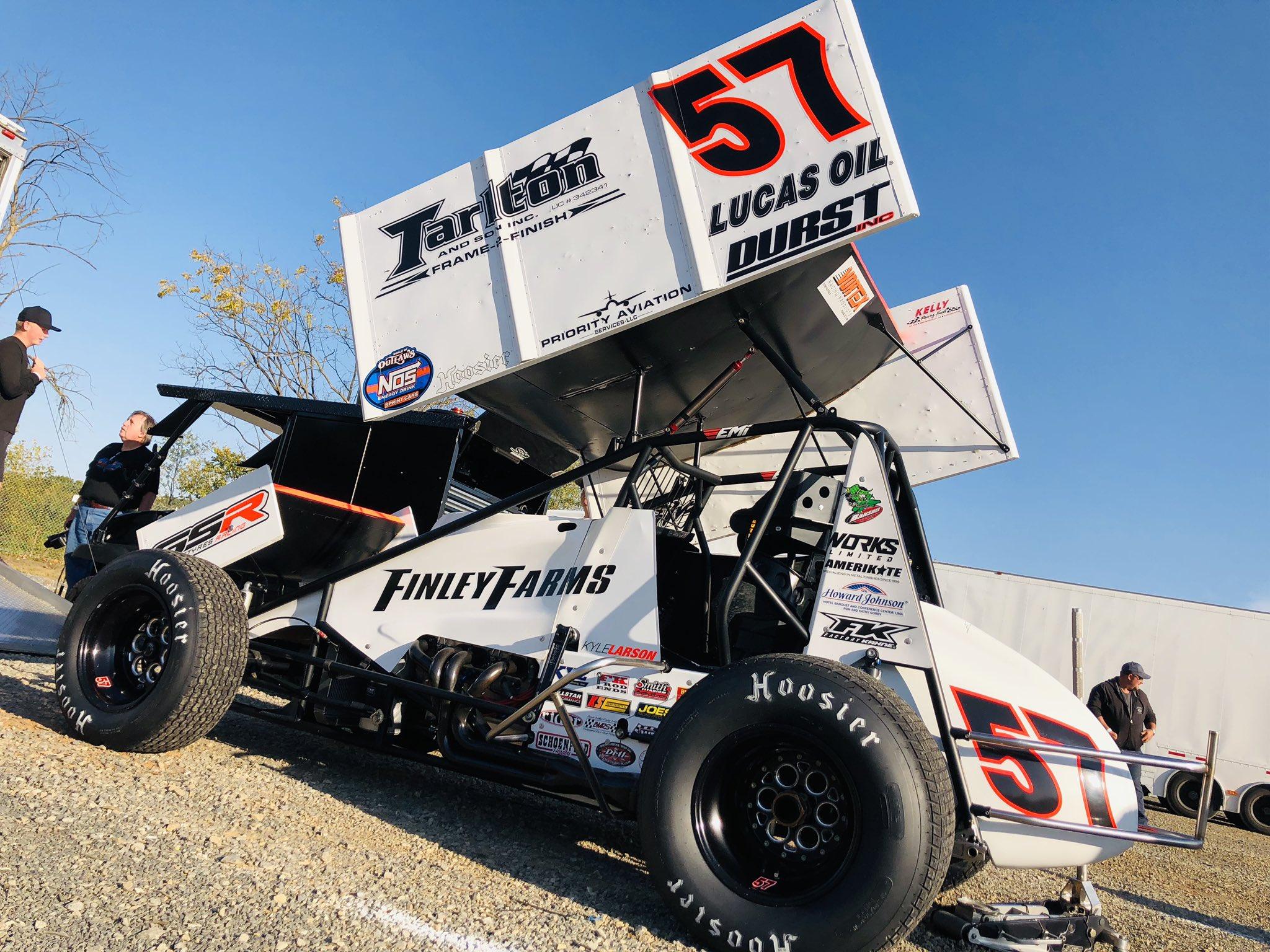 Kyle Larson at Port Royal Speedway