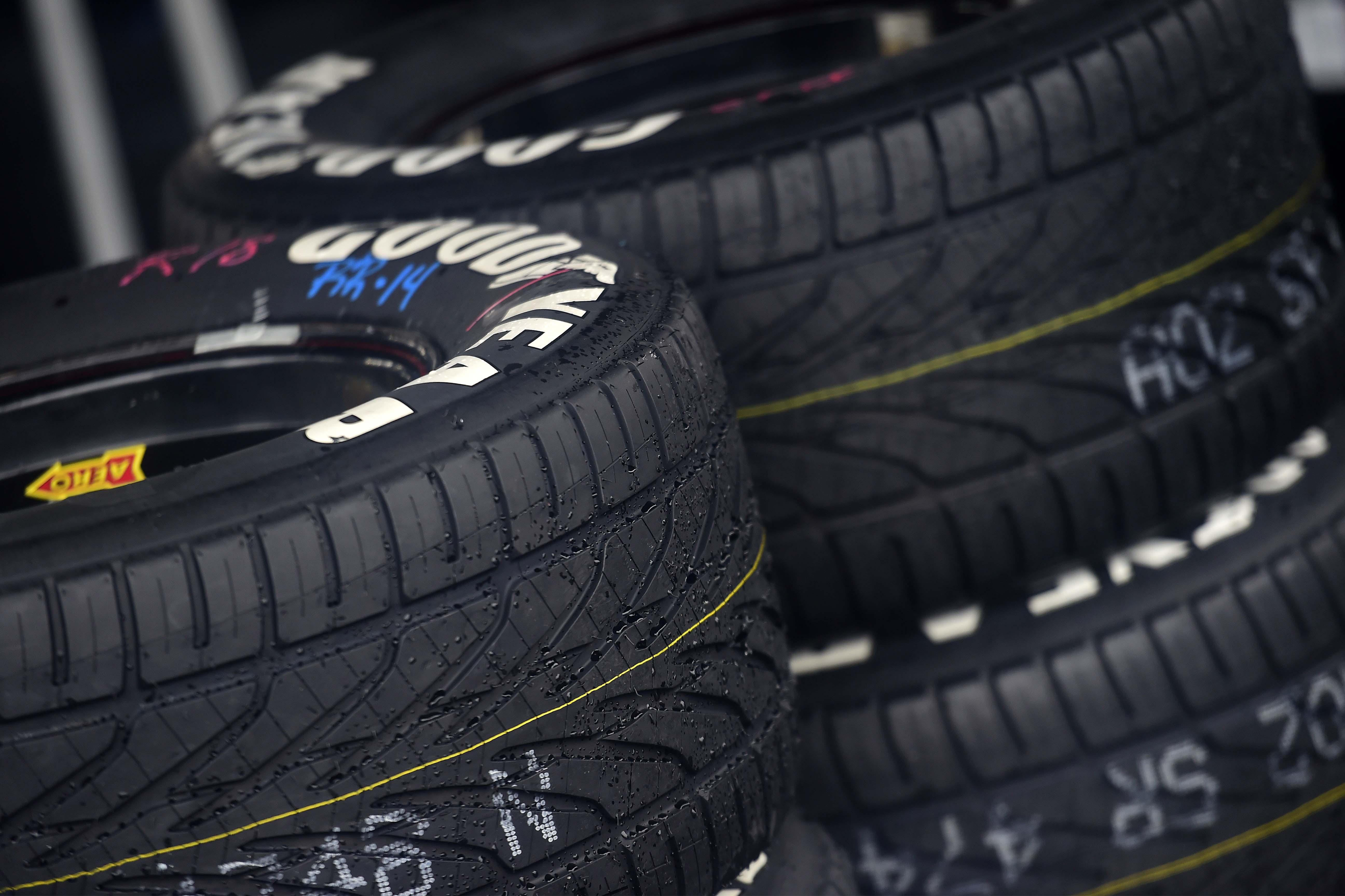 NASCAR Rain Tires - Goodyear