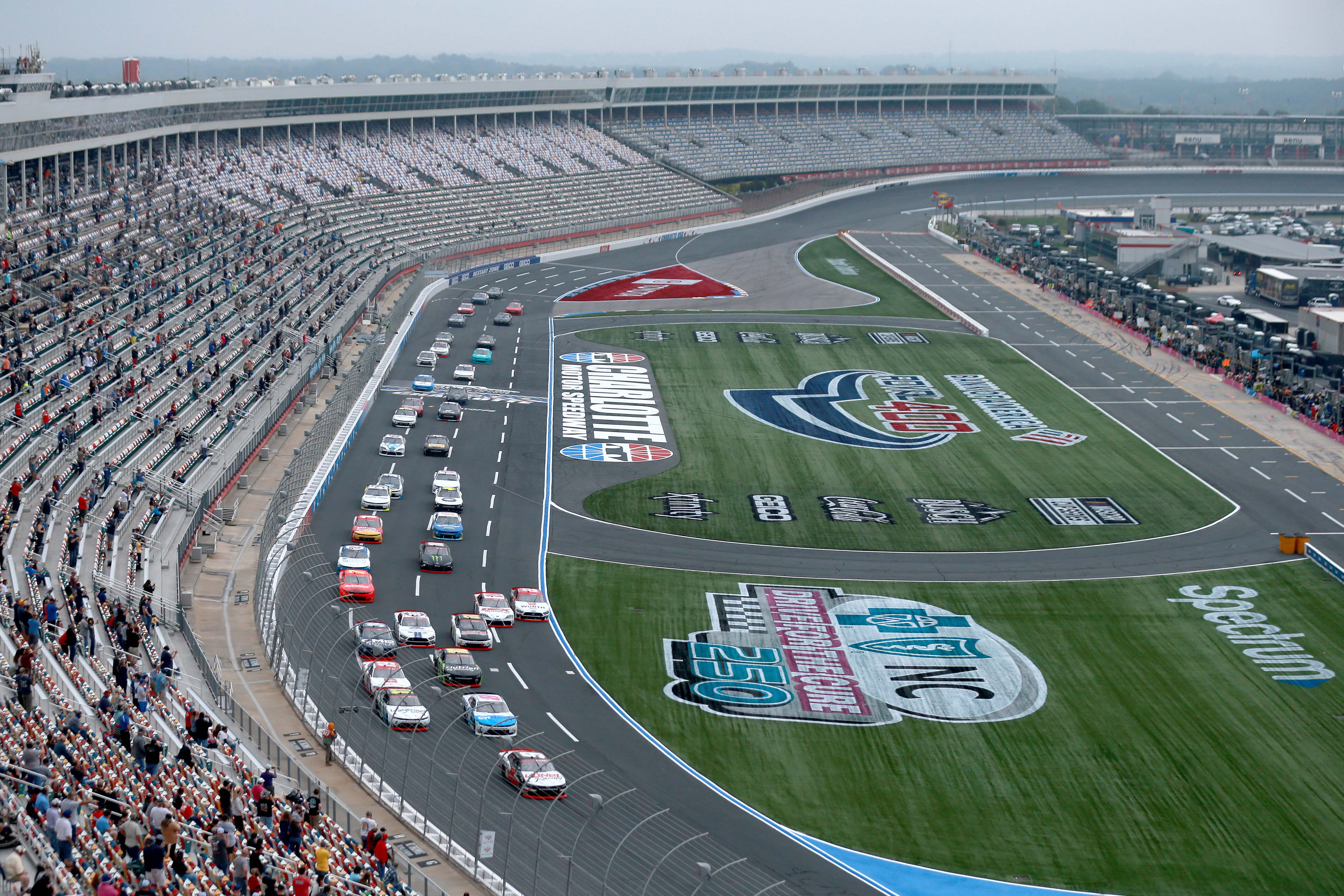 NASCAR Xfinity Series on the Charlotte Roval