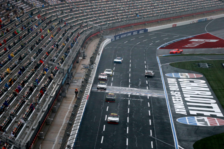 Carreras de lluvia de la NASCAR Xfinity Series - Charlotte Roval